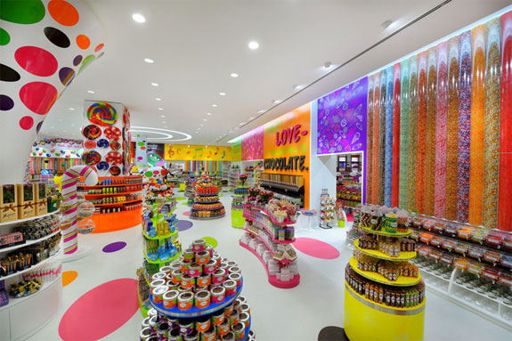 awesome candy store colors