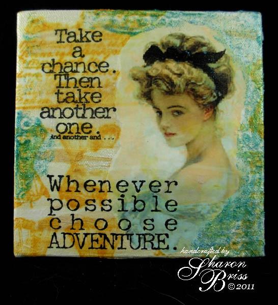 Choose adventure image quote
