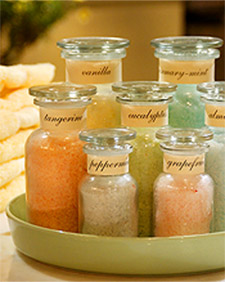 How to make homemade bath salts