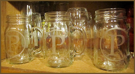 how to make etched mason jars