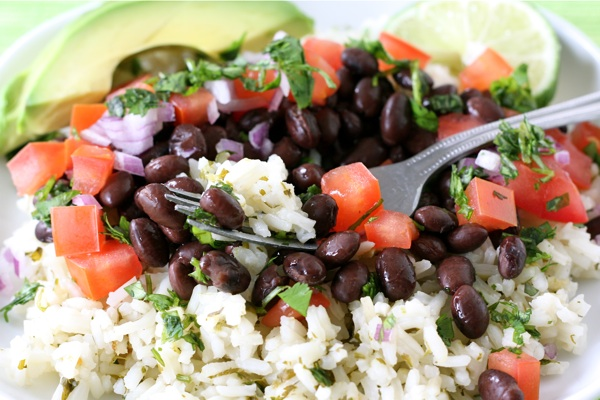 Healthy Meal - Mexican Rice Bowl