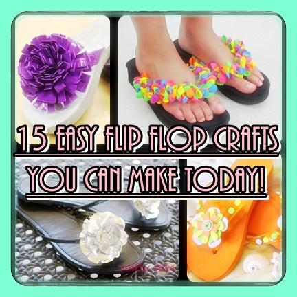 flip flop crafts