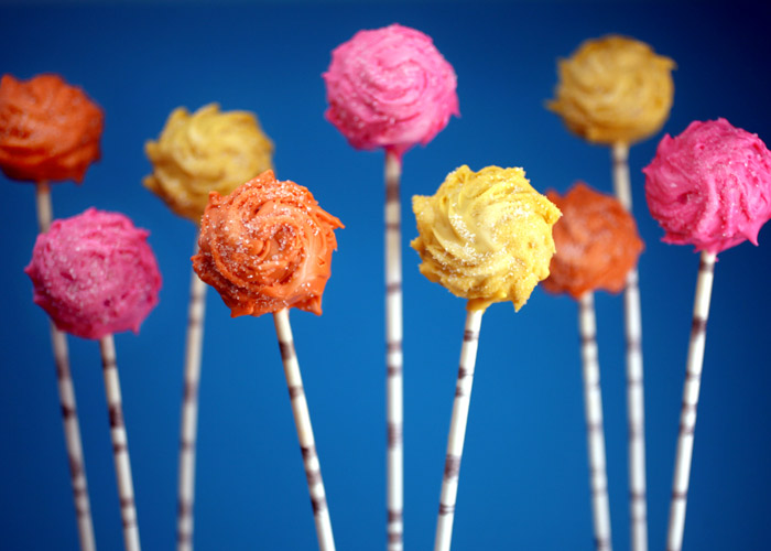 Truffula Tree cake pop how-to
