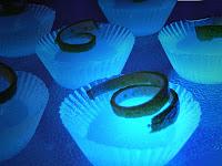 Super Sonic glow in the dark Jello shot