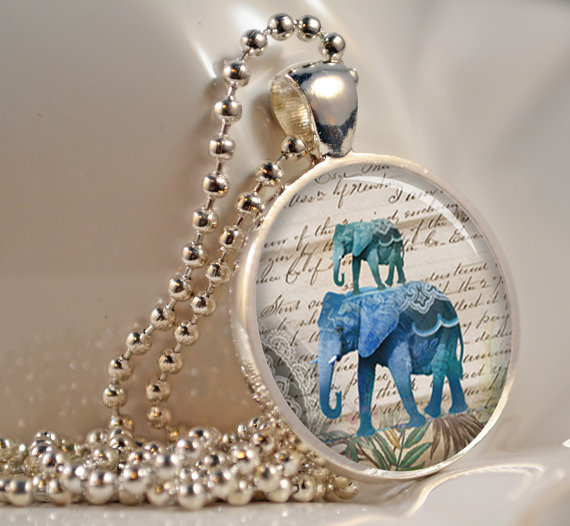 Elephant pendant for Mother's Day