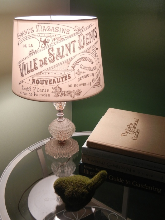 Makeover lamp shade - Sharpie art