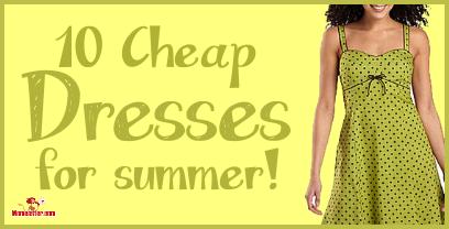 Cheap dresses for summer