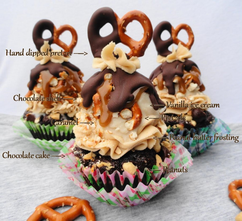 Recipe for homemade ice cream cupcakes