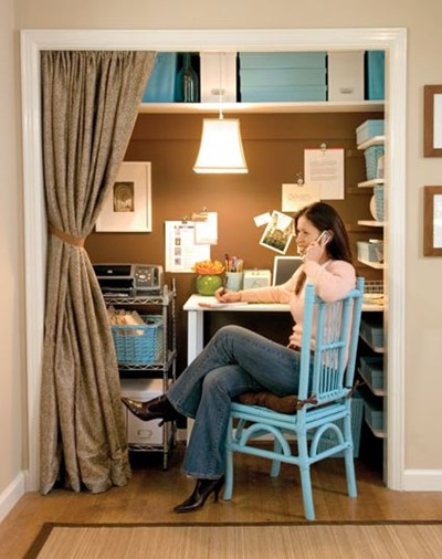 Closet Home Office