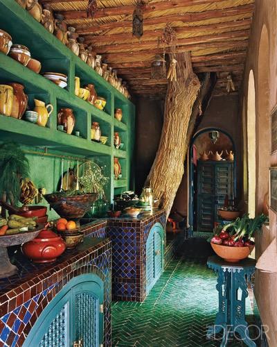 Moroccan Colorful Kitchen Design