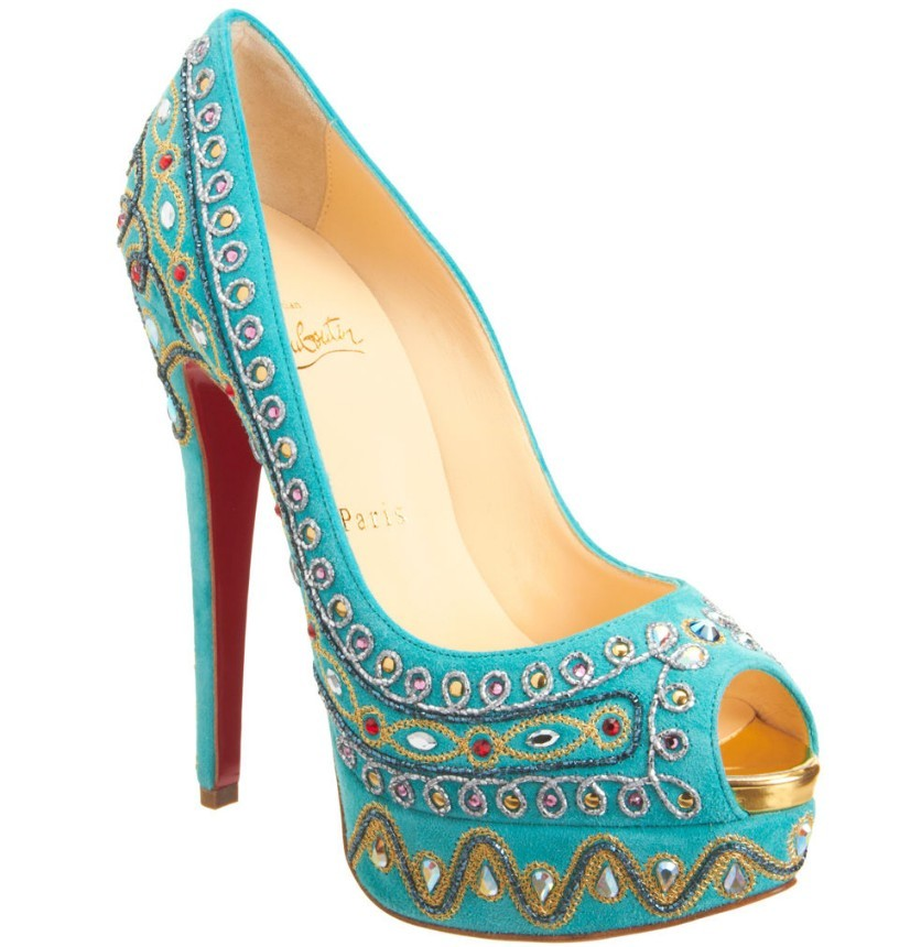 Christian Leboutin Bollywoody Suede Pumps
