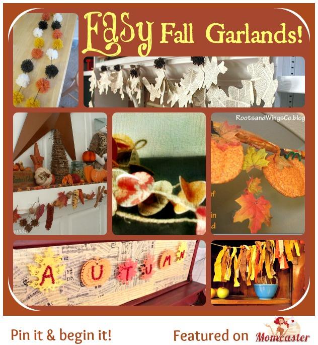 fall garland ideas