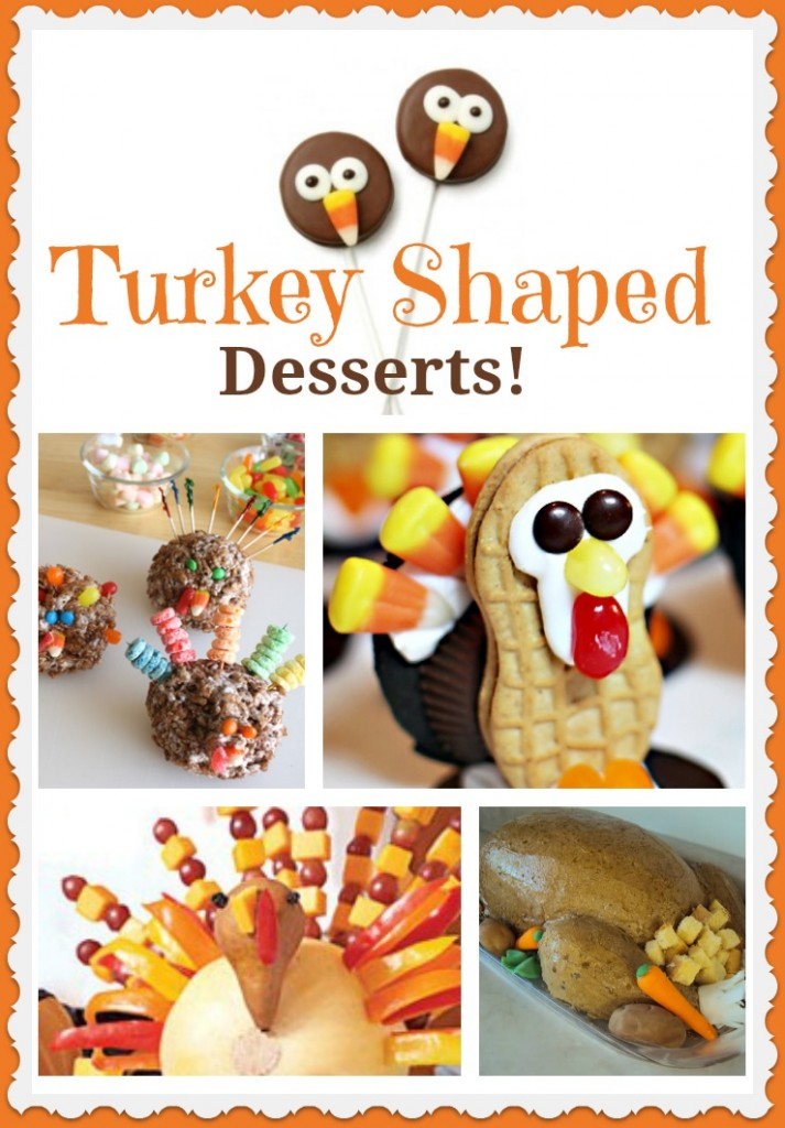 How to make gobbling cute turkey shaped desserts!