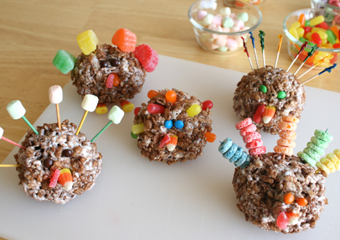 How to make Rice Krispy turkeys