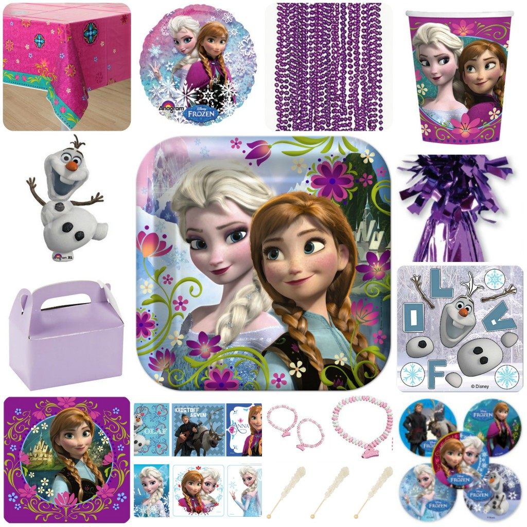 Frozen Birthday Party - Giveaway