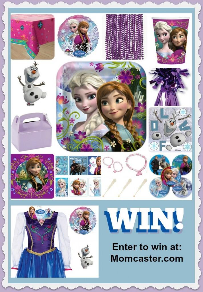 Win a FROZEN Birthday Party or Frozen Anna Dress!