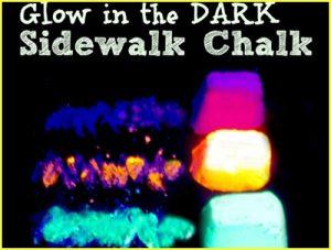 Glow in the Dark Chalk