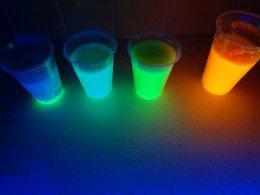 Glow in the Dark Chalk DIY