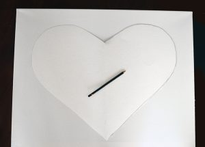 Melted Crayon Heart Picture 1