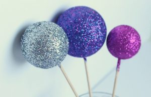 Glitter Glue Ornaments