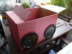 Cardboard Box Race Car